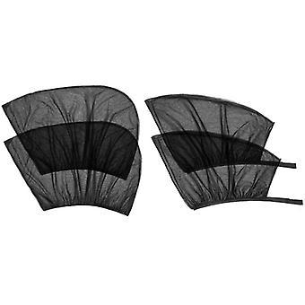Car Side Window Sun Shade- Car Sun Shade Blocking Car Mosquito Net For Baby, Uv