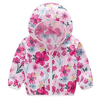 Spring & Autumn Casual Jackets, Outerwear Fashion Printing Windbreaker,