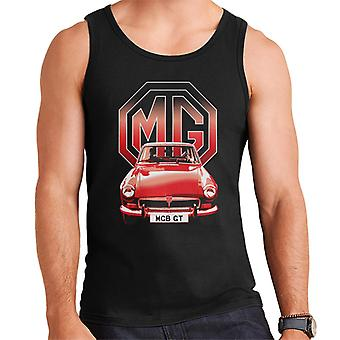MG B GT Red British Motor Heritage Men's Vest