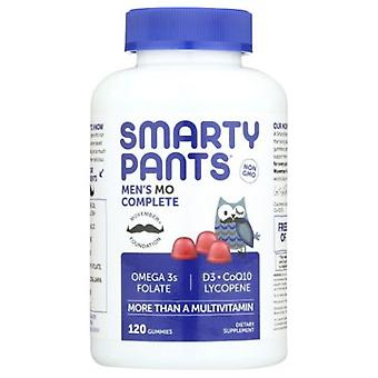 SmartyPants Men's Complete Daily Multivitamin, 120 Count