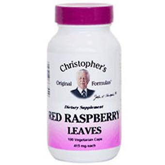 Dr. Christophers Formulas Red Raspberry Leaf, 100 Vegicaps