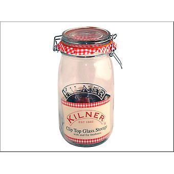 Kilner Clip Jar Round 1.5L 0025.492