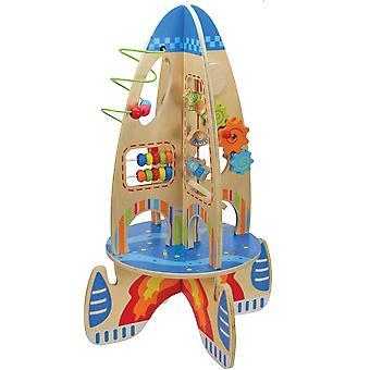 Dřevěná raketa - velká
