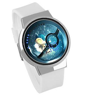 Nepremokavé svetelné LED hodinky Digital Touch Children - Pokemon GO #19