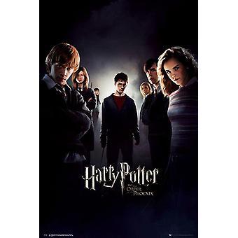 Harry Potter en de Orde van de Ph÷nix Poster Harry Potter (Daniel Radcliffe) & Team. 91,5 x 61 cm