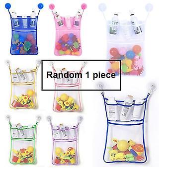 Kinderen Mesh Bags Badkuip Doll Organisator Kid Bad Speelgoed Spullen Net Bags Sucker