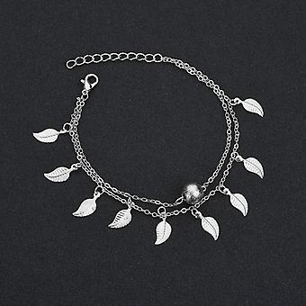 Slim, Adjustable, Chain Anklet-on The Leg Foot Bracelet