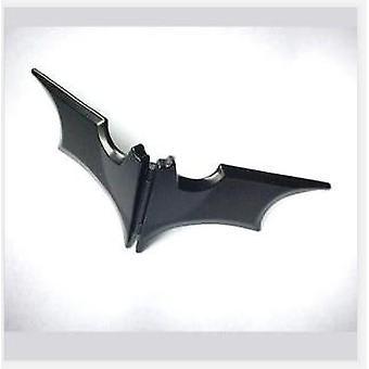 גברים 'של נירוסטה Batwing עטלף Slim Id כסף כסף מחזיק ארנק