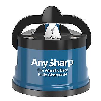 Anysharp Messerschärfer mit Powergrip, blau