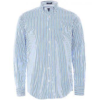 GANT Regular Fit Broadcloth Raidallinen paita