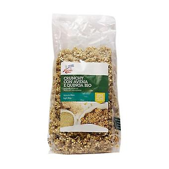 CRUNCHY WITH OATS AND QUINOA 375 g