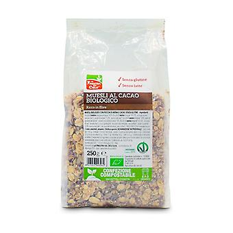 Organic Cocoa Crunchy Muesli Gluten Free - Compostable Packaging None