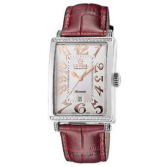 Gevril Mujeres's 6208RT Glamour Reloj automático de diamantes rosas [Ver]