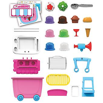 Ice Cream Food Truck Épicerie Jouet Jouet Playset