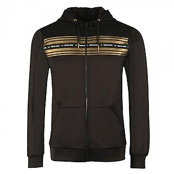 Kings Will Dream Vez Black Poly Zip Up Hoody Track Top