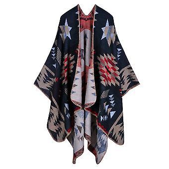 Women's Fall/winter Plus Size Star Warm Scarf Blanket Shawl
