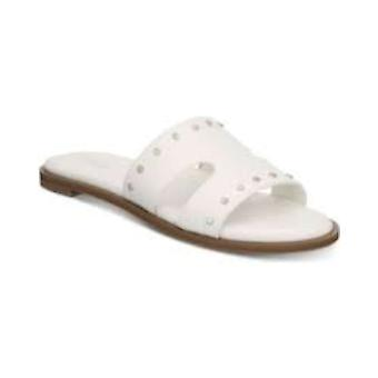 Bar III Womens Priscilla Fabric Open Toe Casual Slide Sandals
