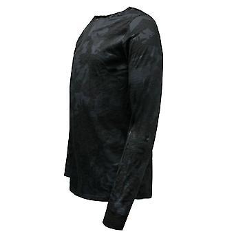 Under Armour Sportstyle Long Sleeve T-Shirt Mens Print Top 1303706 005 RW117