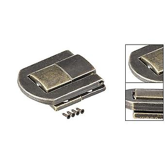 Zinc Alloy, Electropated, Retro Style Toggle Latch Withr Screws