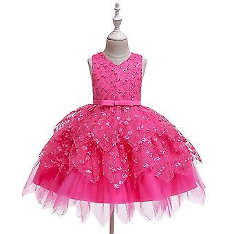 V-Ausschnitt Elegantes Kleid