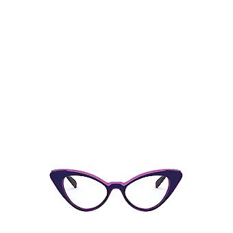 Vogue VO5317 top blue / transparent fuxia female eyeglasses