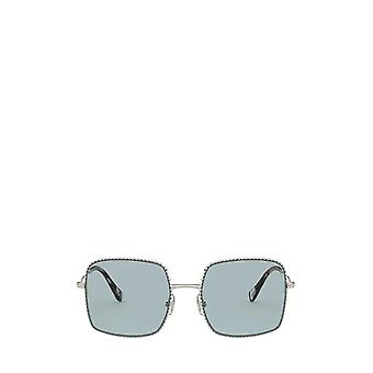 Miu Miu MU 61VS gafas de sol femeninas de oro pálido