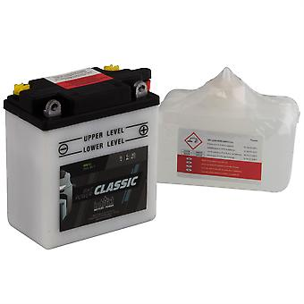 intAct 6N6-3B-1 Classic Bike-Power Battery With Acid Pack