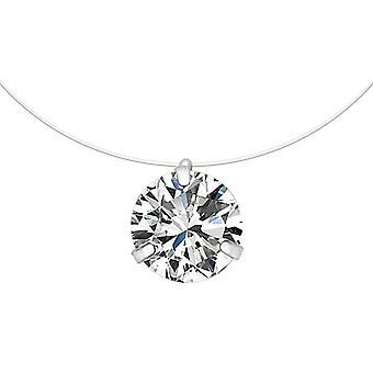 Pearl Crystal Zircon Necklace