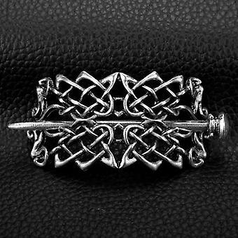 Hiusneula Celtics Knots Crown, Vintage metallinen hiustikku