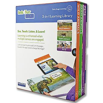 Link4Fun Books, Set Of All 3