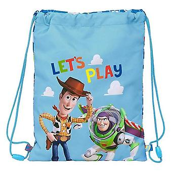 Backpack with strings toy story let's play blue