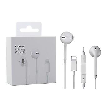 Lighting Electric Earphone With Microphone, Wired Stereo, Lightning
