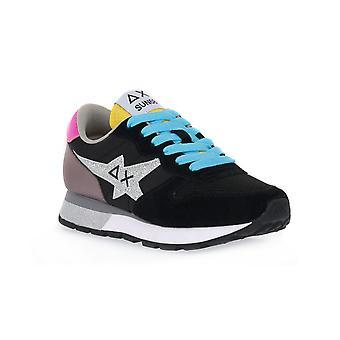 Sun68 11 ally star glitter logo sneakers fashion