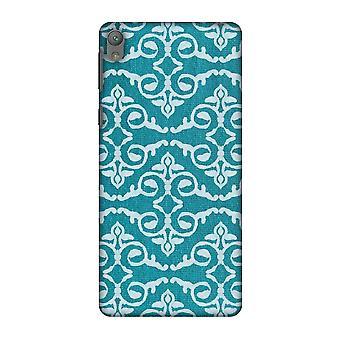Batik Dyeing Art Deco - Aquamarine Slim Hard Shell Case For Sony