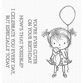 Mijn favoriete dingen Verjaardag Cutie Duidelijke Postzegels
