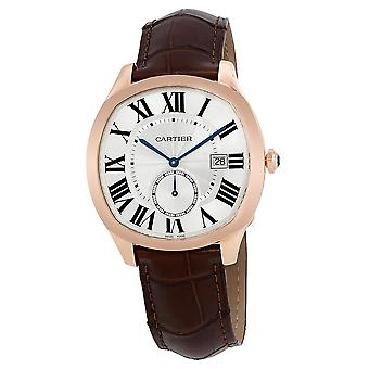 Cartier Drive De Cartier 18kt Rose Gold Automatic Men's Watch WGNM0003