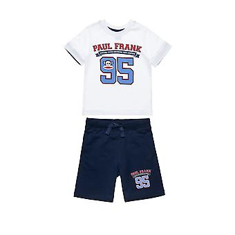 Alouette Boys' T-Shirt And Shorts Set With Print