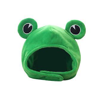 Cute Plush Frog Hat Scarf Cap