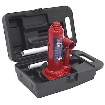 Sealey Sj2Bmc Bottle Jack 2Tonne With Carry-Case