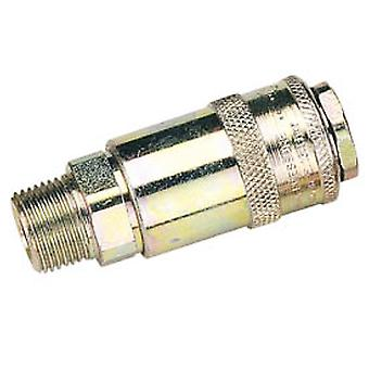 Draper 37836 Packed 3/8 Male Thread PCL Tapered Airflow Coupling