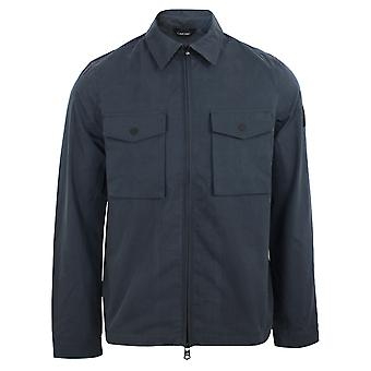 Calvin klein men's calvin navy light shirt jacket