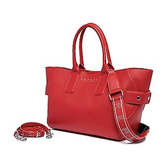 REPLAY FW3079، حقيبة يد نسائية، 260 أحمر الدم، يونيك