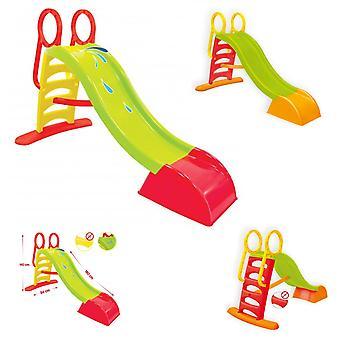 Mochtoys 10832 Kinderrutsche und Wasserrutsche in einem, 150 cm Rutschlänge