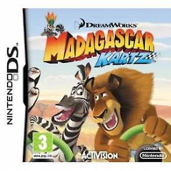 Madagascar Kartz Game DS