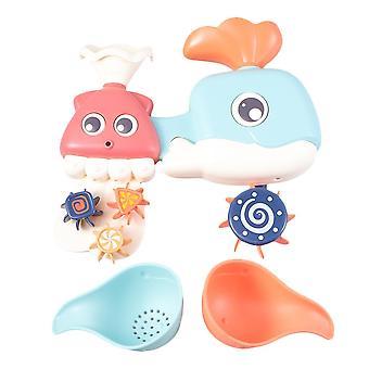 Zdjęcie 1 ośmiornice wieloryby wodospad kąpiel zabawna rotacja kąpiel owanka z wanna wanna z 2szt łyżki dla dzieci dt3520
