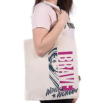 Wonder Woman Brave Tote Bag