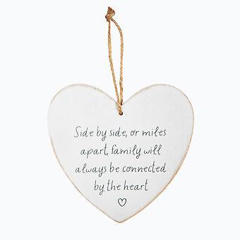 Sass &Belle side om side eller Miles hjerteplakett