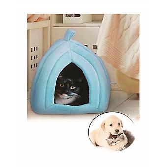 Pet Hut Polar Cat And Dog Bed-blue
