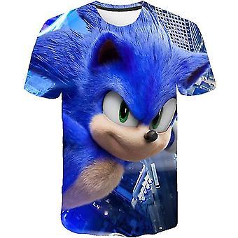 Super Sonic Print Baby 3d Hoodies Cartoon Sweatshirt