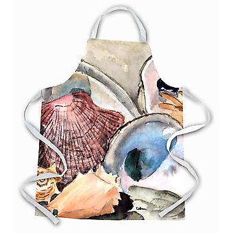 """Caroline'S Treasures 8619Apron Sea Shells Apron, Large, Multicolor"""